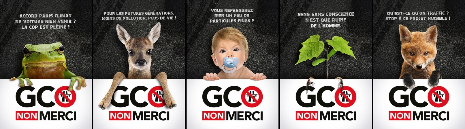 Affiches anti-GCO