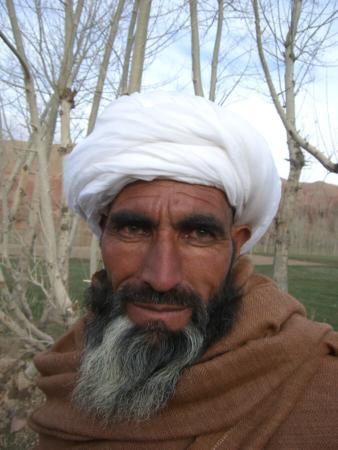 Ancien du village de Tik (ouest de l'Afghanistan, 2006)