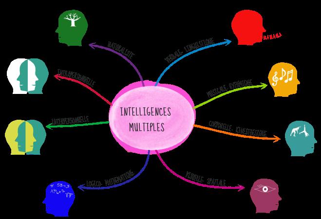 L'approche cognitive en matière d'éducation au respect du vivant s'appuie sur plusieurs entrées qui constituent ce que l'on nomme aujourd'hui les intelligences multiples (Gardner, 1983).