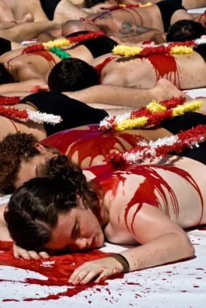 Chacun sa façon de traiter, artistiquement, du sujet de la corrida