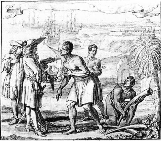 commerce d'ivoire, ghana, 1690