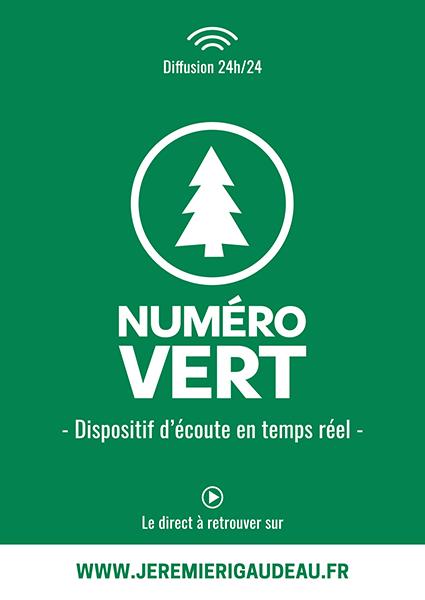 Communication autour de Numéro Vert