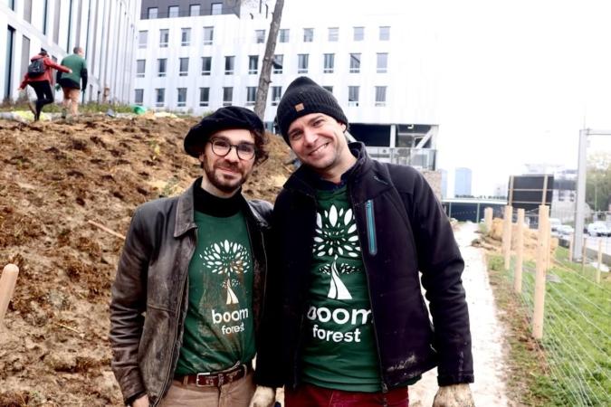 Damien et Enrico, fondateurs de Boomforest