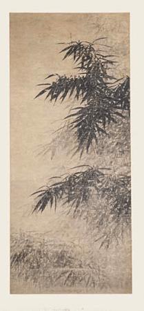 Feuilles de bambous - Epoque Yuan