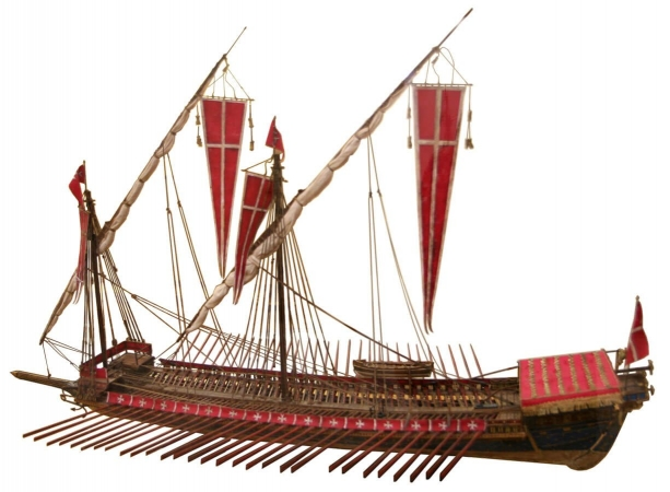 Galère Maltèse exposée à Venise