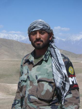 Kâmrân Khân, policier afghan (2008)