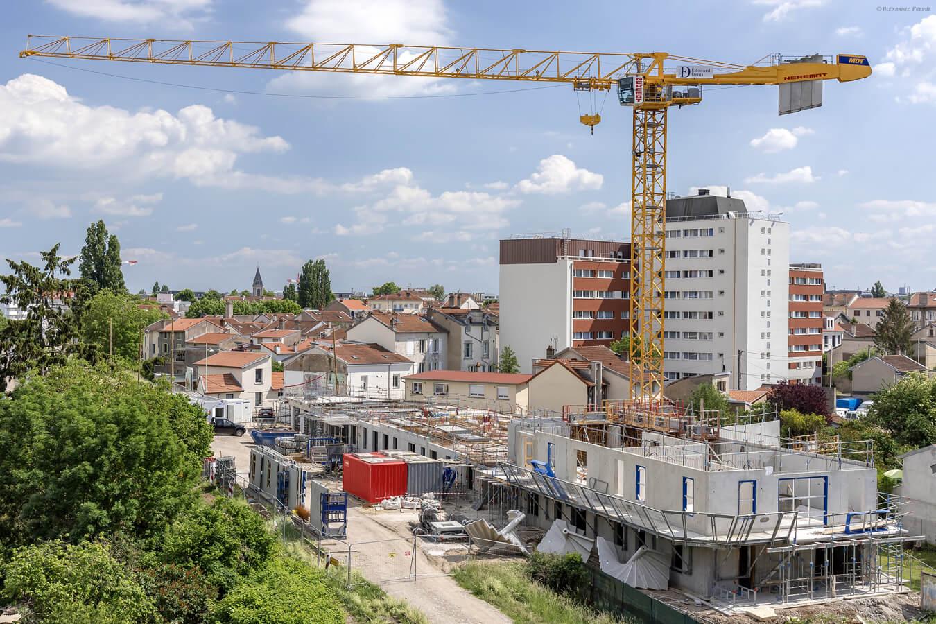 La construction de logements représente plus de 40% de la surface artificialisée