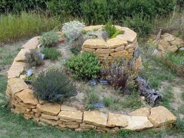 La spirale de plantes aromatiques : belle, utile et efficace !