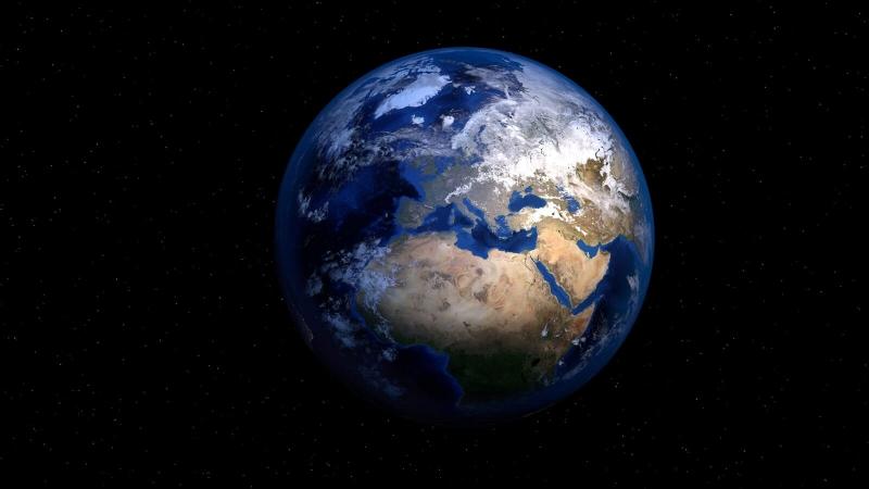 La Terre, vue de l'espace