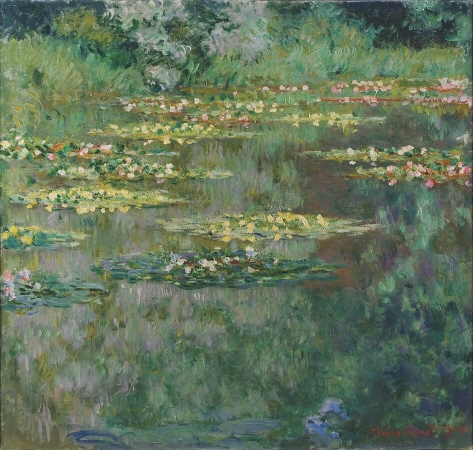 Le Bassin des Nympheas, de Claude Monet, 1904