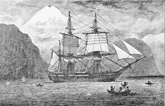 Le beagle, bateau surlequel Darwin a fait sa fameuse expédition