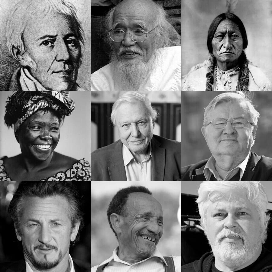 Preview de 10 personnes ayant marqué  l'écologisme