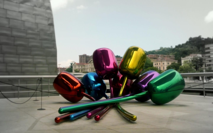 Les Tulipes de Jeff Koons