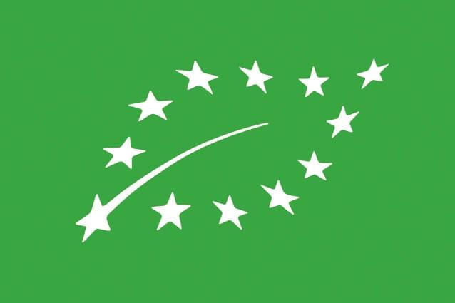 Logo de l'agriculture biologique AB de l'union européenne