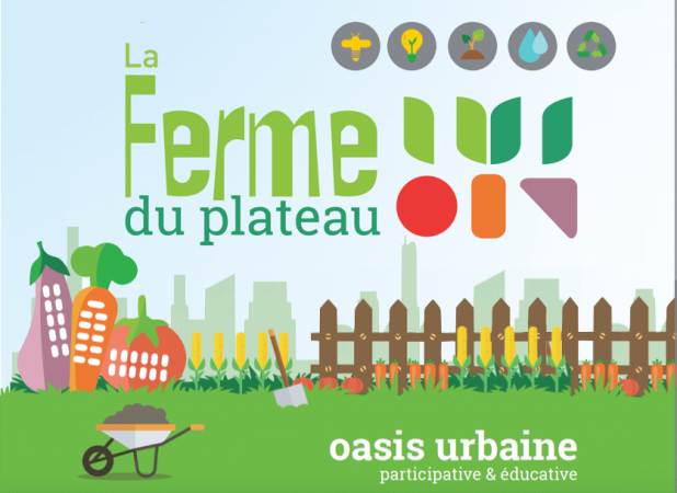 Logo de l'initiative d'éducation à la nature et à l'agriculture à Nancy