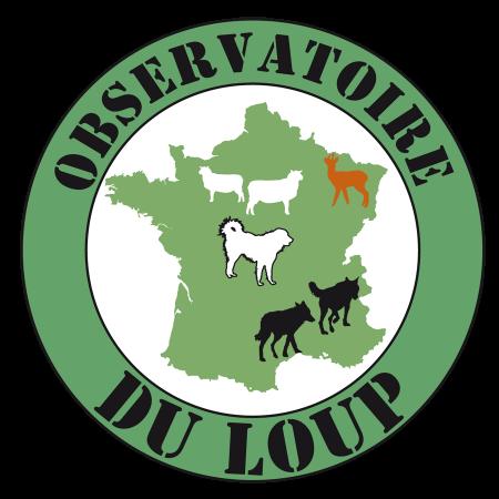 Logo de l'observatoire du loup