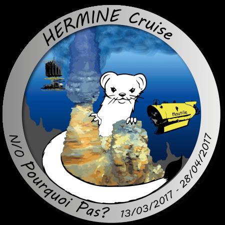 Logo de la campagne HERMINE de l'IFREMER