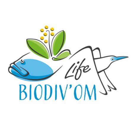 Logo de Life BIODIV'OM