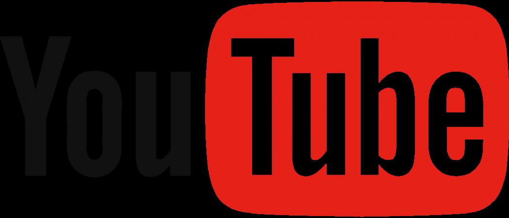 Logo de la plateforme YouTube