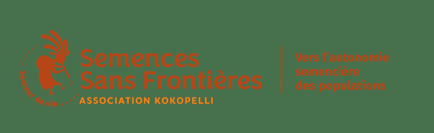 Logo de la campagne 'Semences Sans Frontières' de Kokopelli