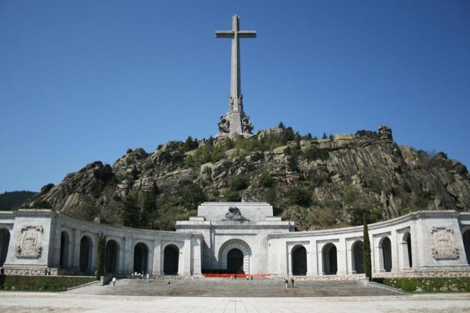 Mausolée à la gloire du dictateur Franco