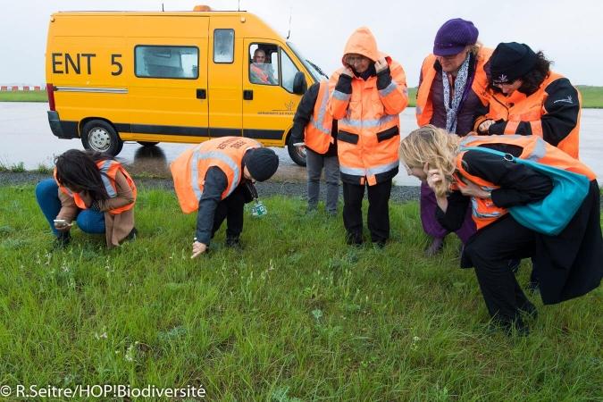 Nombreuses personnes volontaires pour participer au suivi de la faune et de la flore sur leur lieu de travail