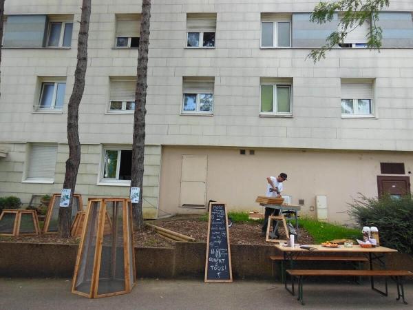 Petit happeing de compostage urbain
