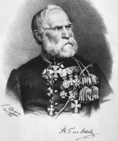 Portrait de Philip von Siebolt