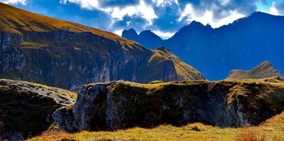 photo de montagnes slovène, patrie du loup de l'ours et du lynx entres autres choses
