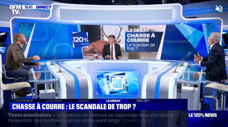 Pierre Rigaux face à Thierry Coste sur le plateau de BFMTV