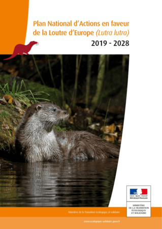 Plan National d'Actions en faveur de la Loutre d'Europe 2019-2028, page de couverture