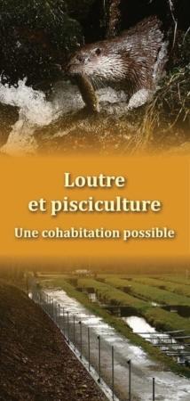 Plaquette Loutre et pisciculture, page de couverture