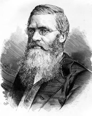 Portrait de Alfred Russel Wallace
