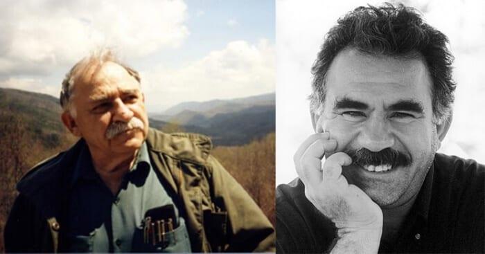 Portraits de Bookchin et Öcalan