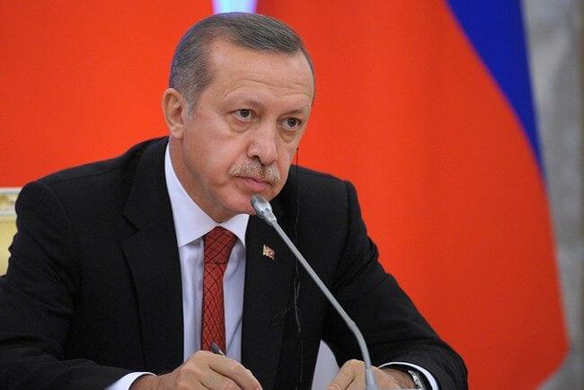 Recep Tayyip Erdoğan, président de la Turquie, a déclaré vouloir se débarrasser des YPG