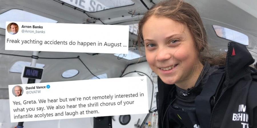Sur Twitter, des adultes n'hésitent pas à s'en prendre publiquement à une adolescente