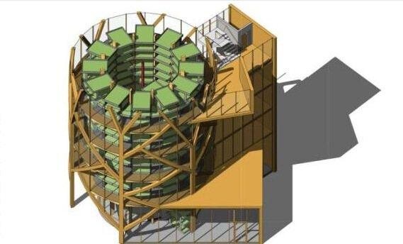 Nouveau concept de ferme verticale (anglais)